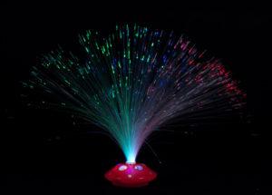 Retro-Lichtleiter-Lampe