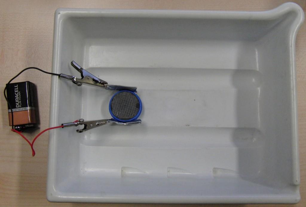 Aufbau MHD-Pumpenmodell